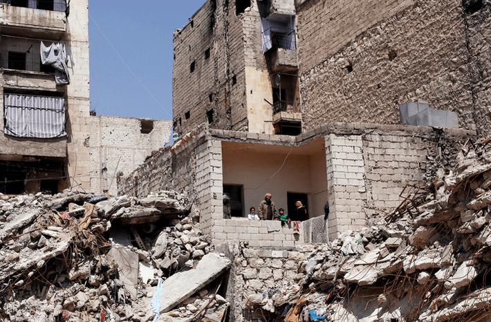 В Алеппо террористы обстреляли жилые кварталы 1