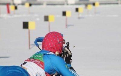 Белорусская биатлонистка Сола поразила мишени спортсменки из РФ в ходе эстафетной гонки