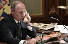 Путин и Меркель в телефонном разговоре обсудили Украину и Сирию