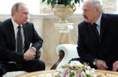 Лукашенко посетовал Путину на нехватку снега в Сочи