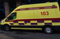 В Казахстане 26 человек попали в больницу после столкновения автобуса и такси