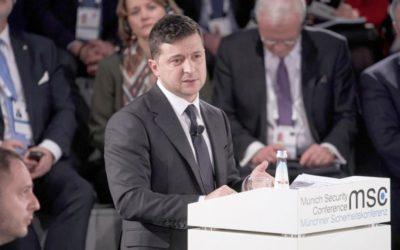 Зеленскому не поставили микрофон на конференции в Мюнхене