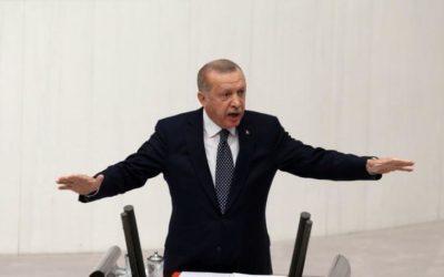 Эрдоган бездоказательно назвал РФ «руководителем кризиса в Ливии»