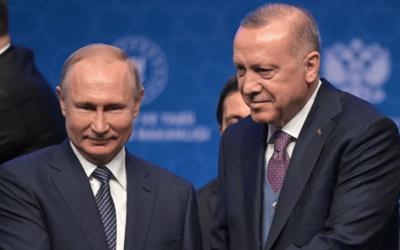 Главы России и Турции провели телефонный разговор