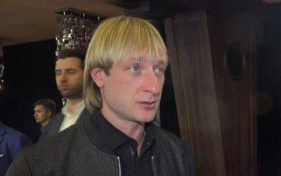 Плющенко отреагировал на слухи о любовнице из Петербурга