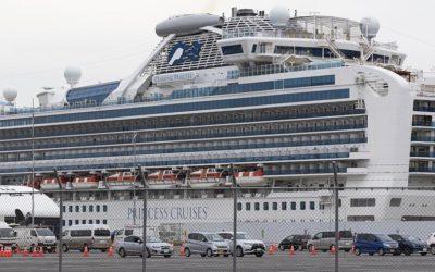 Третий пассажир лайнера Diamond Princess умер от коронавируса