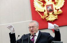 Жириновский: Запрещаю всем, кроме Путина и Володина, протягивать мне руку