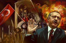Эрдоган летит в Москву под дождем турецких дронов и слез матерей