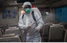 Зафиксирован первый случай спорадического заражения коронавирусом