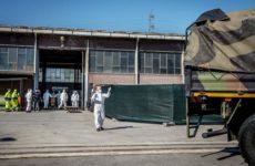 Пока не истребили советскую мощь: Войска РХБЗ ведут в Бергамо вирусную разведку боем
