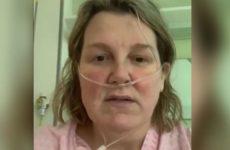 Заболевшая коронавирусом британка со слезами обратилась к миру