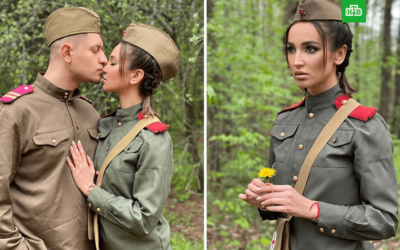 Пользователи обрушились на Бузову за фотосессию в День Победы