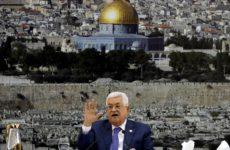 Палестина отказалась считать Штаты посредником в урегулировании конфликта с Израилем