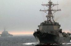 Китай прогнал устроивший провокацию эсминец США из своих территориальных вод