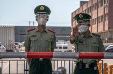 Пекин ограничил автомобильное сообщение города