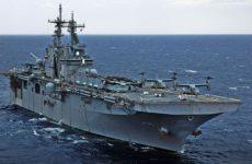 Десантный корабль-док ВМС США вошел в Черное море