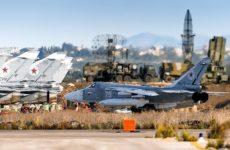 Российские средства ПВО сбили два дрона боевиков вблизи авиабазы Хмеймим