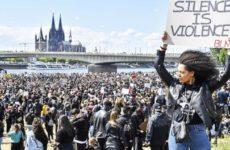 Бунты в Германии: Полиция стала главным врагом всего мира