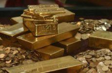Часть слитков из золотого запаса Китая оказалась фальшивкой