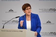 Глава Минобороны Германии ответила критикам «Северного потока – 2»