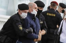 В Минске задержали около 200 участников стихийной акции солидарности