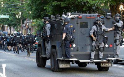 В Сиэтле после беспорядков задержали 47 человек, пострадали 59 полицейских