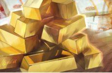 Цена золота поднялась до нового исторического максимума