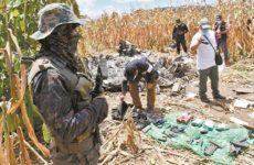 Угнанный в Мексике самолет разбился в Гватемале с грузом наркотиков и оружия