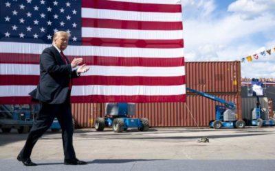 Трамп пообещал покончить с зависимостью экономики США от Китая
