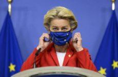 Глава Еврокомиссии ушла на самоизоляцию