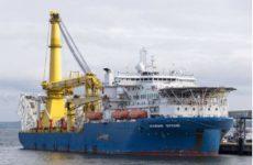 Способное достроить «Северный поток-2» судно уплыло