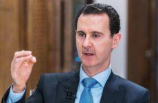 Башар Асад заявил, что Турция использует террористов в Карабахе