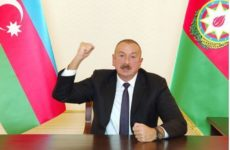 Алиев заявил о взятии азербайджанскими войсками территорий Нагорного Карабаха