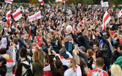 Подсчитан ущерб экономике Минска от протестов