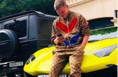 Lamborghini Кокорина задержали в Москве без номеров