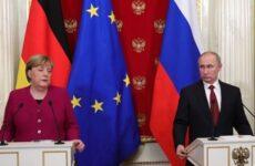 Кремль раскрыл детали разговора Путина и Меркель о «Северном потоке-2»